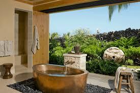 outdoor bathtub 4 warm metal fixture ideas to brighten up your bathroom