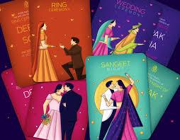 creative indian wedding invitations creative indian wedding invitations