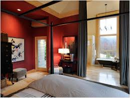 bedroom master bedroom with bathroom and walk in closet romantic