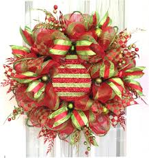 how to attach large ornaments to deco mesh wreaths wreaths