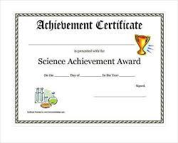 printable achievement certificates best 25 certificate of