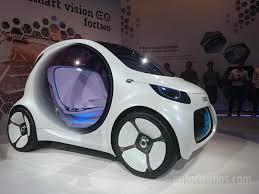 auto show de frankfurt 2017 smart vision eq fortwo concept