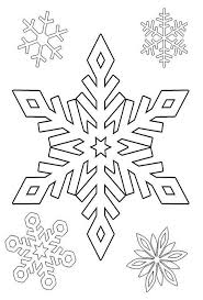 winter coloring pages snowflakes kids coloringstar