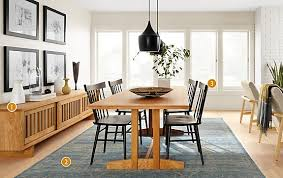 Hart Dining Table In Natural Cherry Modern Dining Room Furniture - Room and board dining tables