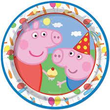 8pk 9 childrens birthday paper plates disney character