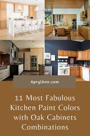 what color walls with oak cabinets 11 most fabulous kitchen paint colors with oak cabinets