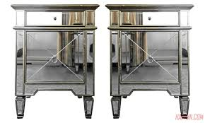 nightstands white and mirrored bedside table furniture sale