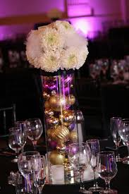 are ornament centerpieces a fall wedding no no