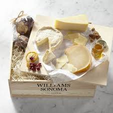 Cheese Gift American Road Trip Cheese Gift Crate Williams Sonoma