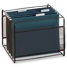 file holder for desk rol22191 mesh hanging file frame holder by rolodex