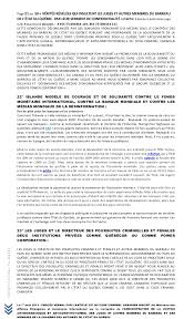 bureau de notaire synonyme 2013 demande formelle à reno bernier de renoncer à serment de con