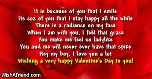 A Happy Valentine Will The by Valentine U0027s Day Messages For Boyfriend