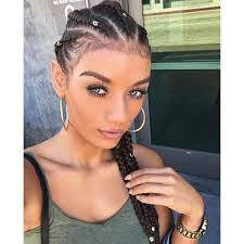 straight back french braids for black women hairstyle for women