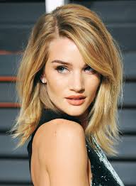 rosie huntington side parted lob rosie huntington whiteley beauty news hair cuts and haircuts