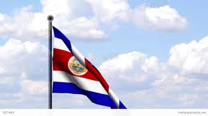 Costa Rico Flag Animated Flag Of Costa Rica Stock Animation 1871449