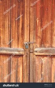 Red Barn Door by Old Red Barn Door Lock Stock Photo 77033347 Shutterstock
