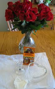 Dollar Store Vase Centerpiece Valentine U0027s Day Centerpiece