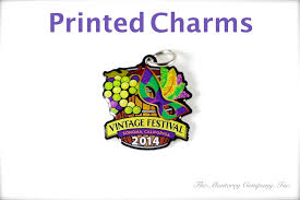 custom charms printed custom charms pendants with your logo