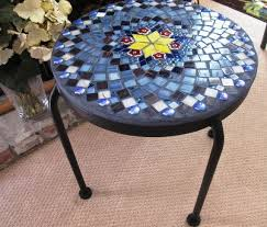 Mosaic Patio Furniture by 44 Best Mosaic Patio Tale Designs Images On Pinterest Mosaic