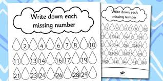 number formation 1 10 worksheet twinkl maths pinterest