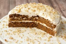 moist vegan carrot cake with lemon buttercream frosting loving