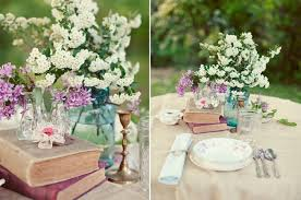 Wedding Centerpieces Using Mason Jars by Book Centerpieces For Vintage Weddings Budget Brides Guide A