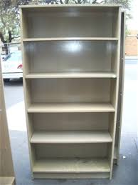 Timber Bookcases 3 Solid Timber Bookcases Lime Wash 4 Shelves Auction 0159