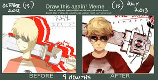 Draw It Again Meme - draw this again meme by laweyd on deviantart
