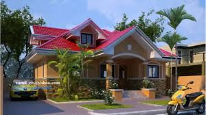 one storey house plans modern one storey house design in the philippines youtube