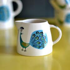 peacock milk jug 2nd hannah turner