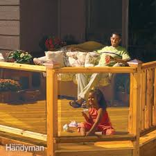 Building A Banister Railing Deck Railing The Family Handyman