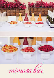 Pinterest Engagement Party by Mimosa Bar Engagement Party Or Shower Or A Funday Sunday
