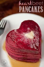 heart beet pancakes self proclaimed foodie