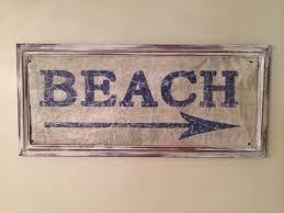 Vintage Beach Decor Diy Nautical Decor Vintage Beach Sign Diy Mom Of Twins