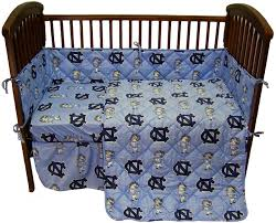 Notre Dame Infant Clothes Unc Baby Crib Bedding North Carolina Tarheels Baby Crib Set