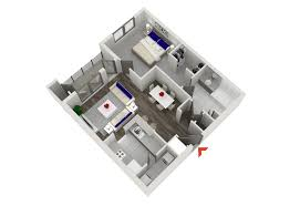 1 Bedroom House Floor Plans Studio 1 U0026 2 Bedroom Apartments In Atlanta Highland Walk