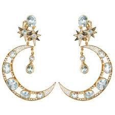 percossi papi earrings sky jewerly polyvore