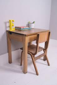 Vintage Kids Desk by Children U0027s Vintage Single School Desk With Chalkboard Lid And