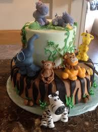 baby shower safari cake safari baby shower baby cakes