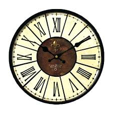 decorative clock round wall clocks large u2013 philogic co