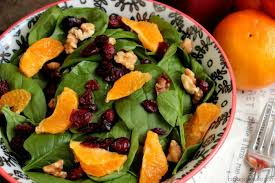 Garden Salad Ideas Pomegranate Vinaigrette With A Walnut Orange And Cranberry