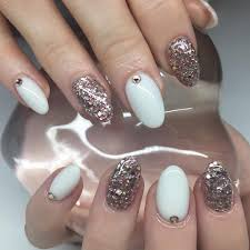 25 white acrylic nail art designs ideas design trends