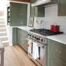 green kitchen cabinets pictures green kitchen cabinets popsugar home