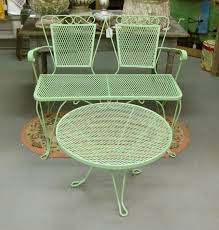Iron Patio Furniture by 52 Best Vintage Mid Century Patio Furniture Images On Pinterest