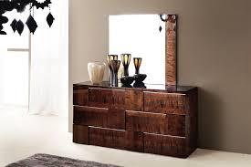 Mirrored Nightstands Cheap Unique Bedroom Dresser With Mirror Features Brown Hardwood Dresser