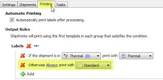 saving and printing labels to pdf shipworks support