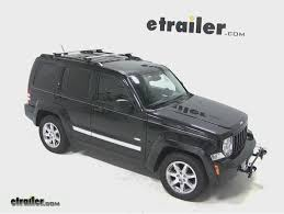 Jeep Liberty Tonneau Cover Thule Aeroblade Crossroad Roof Rack Installation 2012 Jeep
