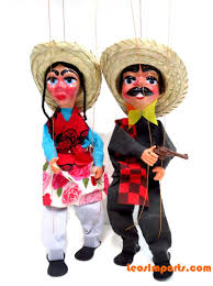 string puppet leos imports mexican string puppet marionette free shipping