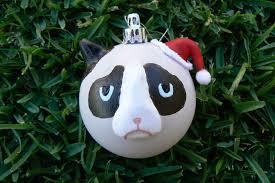 ldp diy grumpy cat bauble ornament