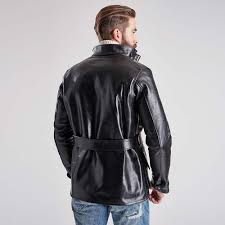 street motorcycle jackets barbour international triumph perfo leather jacket black
